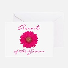 Groom's Aunt Greeting Cards (Pk of 10)