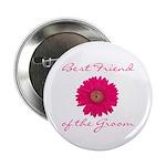 Groom's Best Friend Button