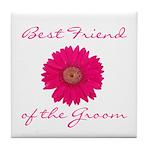Groom's Best Friend Tile Coaster