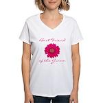 Groom's Best Friend Women's V-Neck T-Shirt