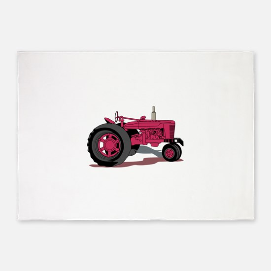 Tractor 5'x7'Area Rug