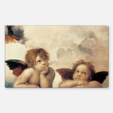 Angels Rectangle Decal