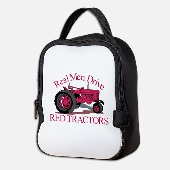 Drive Red Tractors Neoprene Lunch Bag