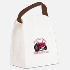 Drive Red Tractors Canvas Lunch Bag