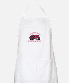 Drive Red Tractors Apron