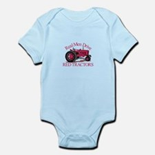 Drive Red Tractors Body Suit