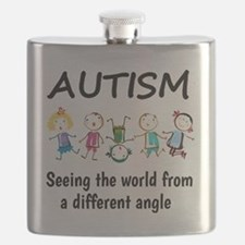Autism...seeing the world from a different a Flask