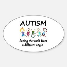 Autism...seeing the world from a di Decal