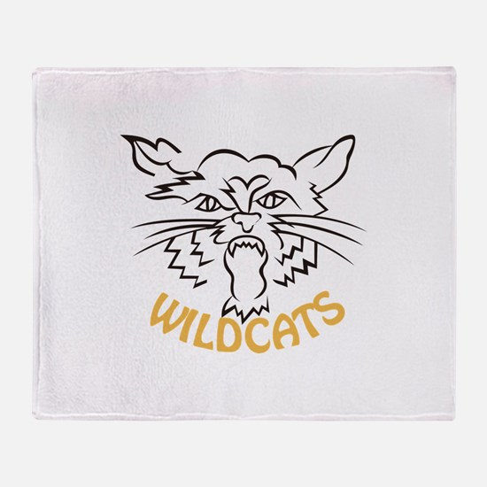 Wildcats Throw Blanket