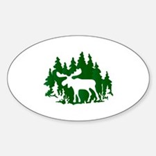 Missing Moose Silhouette Decal