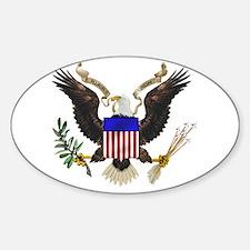 U.S. Seal Oval Decal