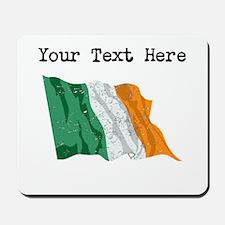 Ireland Flag (Distressed) Mousepad