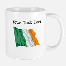 Ireland Flag (Distressed) Mugs