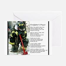 Old Version Firefighter Prayer Greeting Cards (Pk
