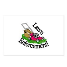 Lawn Enforcement Postcards (Package of 8)