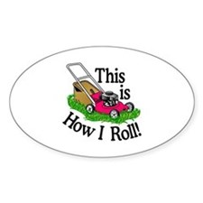How I Roll Decal