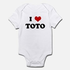 I Love TOTO Infant Bodysuit