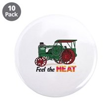 "Feel the Heat 3.5"" Button (10 pack)"
