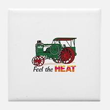 Feel the Heat Tile Coaster