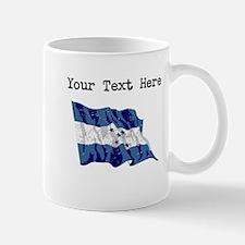 Honduras Flag (Distressed) Mugs