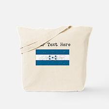 Honduras Flag (Distressed) Tote Bag