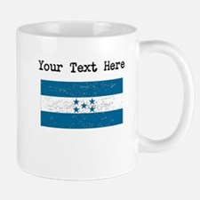 Honduras Flag (Distressed) Mugs