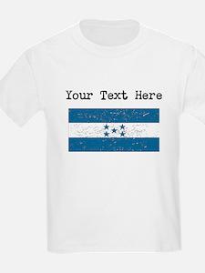Honduras Flag (Distressed) T-Shirt