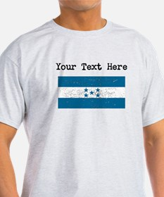 Honduras Flag (Distressed) T-Shirt