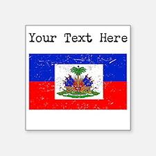 Haiti Flag (Distressed) Sticker