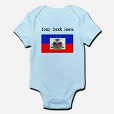 Haiti Flag (Distressed) Body Suit