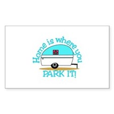 Park It Decal