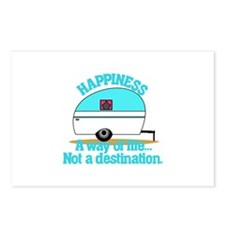 Happiness Postcards (Package of 8)