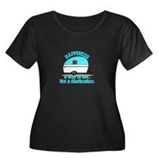 Happiness Plus Size T-Shirt