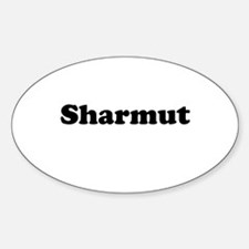 Sharmut Oval Decal
