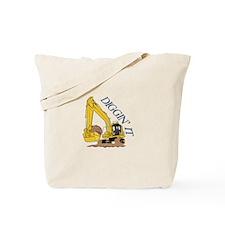Diggin It Tote Bag