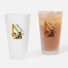 Diggin It Drinking Glass