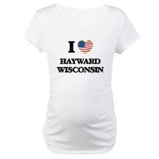 I love Hayward Wisconsin Shirt