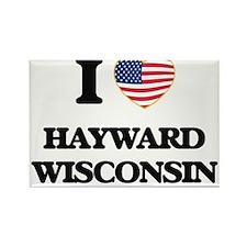 I love Hayward Wisconsin Magnets