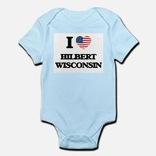 I love Hilbert Wisconsin Body Suit