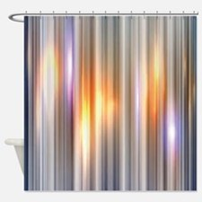 Gold Glow Shower Curtain