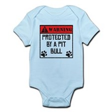 Protected By A Pit Bull Body Suit