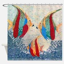Angel Fish Shower Curtain