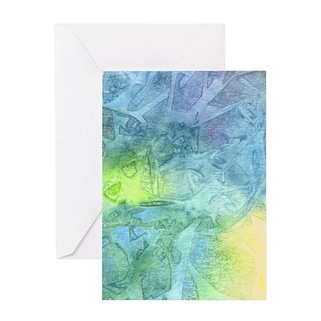 Undersea Luminescence Greeting Card