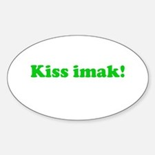 Kiss Imak Oval Decal