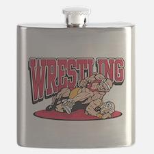 Wrestling Takedown Flask
