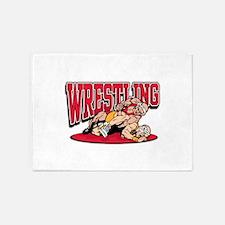 Wrestling Takedown 5'x7'Area Rug