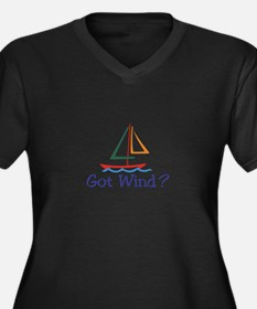 Got Wind? Plus Size T-Shirt