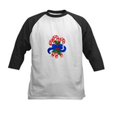 Candy Cane Bouquet Baseball Jersey