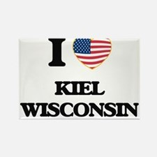 I love Kiel Wisconsin Magnets