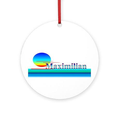 Maximilian Ornament (Round)